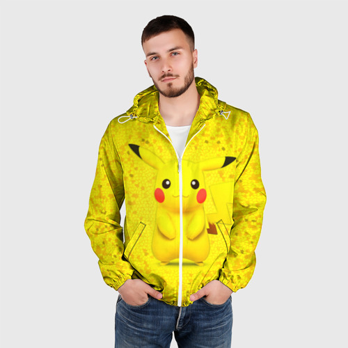 Мужская ветровка 3D  Фото 03, Pikachu
