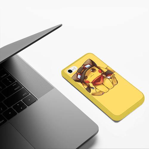 Чехол для iPhone 6/6S матовый Pikachu Фото 01