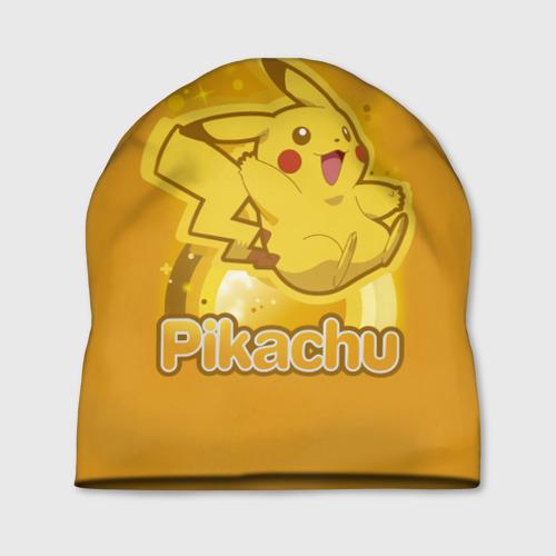 Шапка 3D  Фото 01, Pikachu