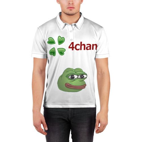 Мужская рубашка поло 3D  Фото 03, 4ch.memes