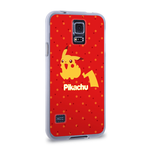 Чехол для Samsung Galaxy S5 силиконовый  Фото 02, Pikachu
