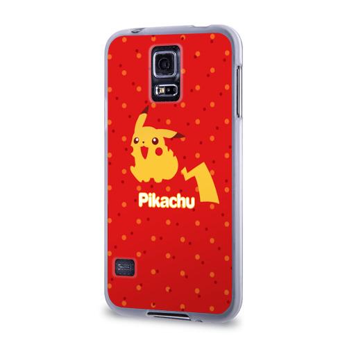 Чехол для Samsung Galaxy S5 силиконовый  Фото 03, Pikachu