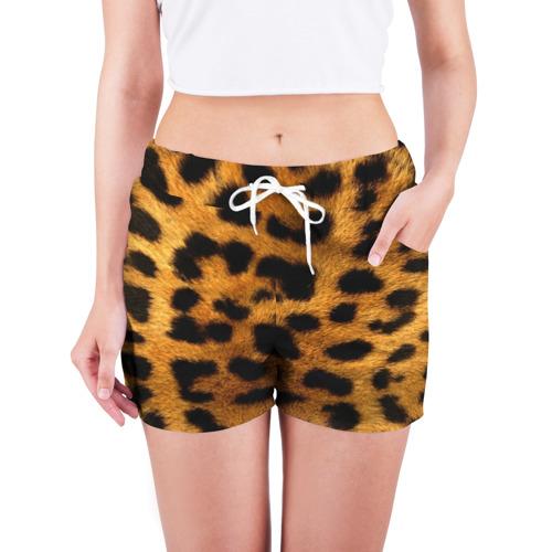 Женские шорты 3D  Фото 03, Леопард