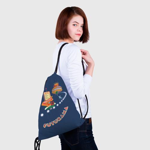 Рюкзак-мешок 3D  Фото 02, Futurama