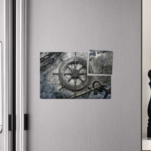 Магнитный плакат 3Х2 Штурвал Фото 01
