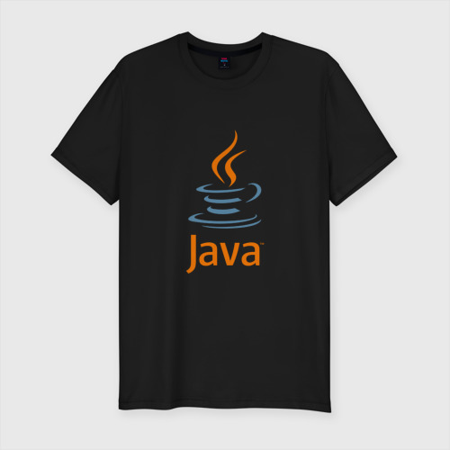 Мужская футболка хлопок Slim Java Фото 01
