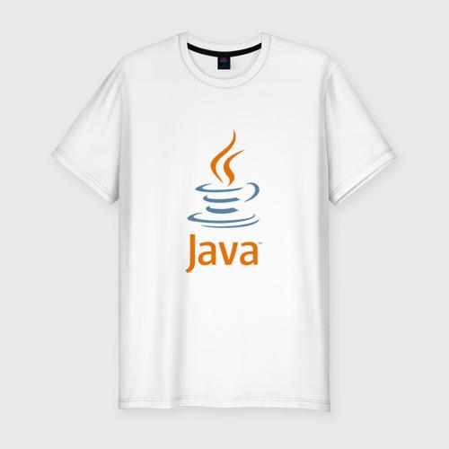 Мужская футболка премиум  Фото 01, Java