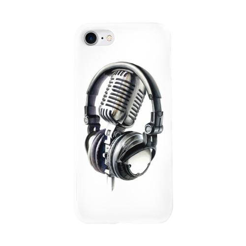 Чехол для Apple iPhone 8 силиконовый глянцевый  Фото 01, Диджей