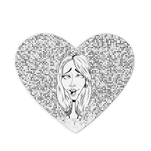 Коврик сердце  Фото 01, Камеди стор 3