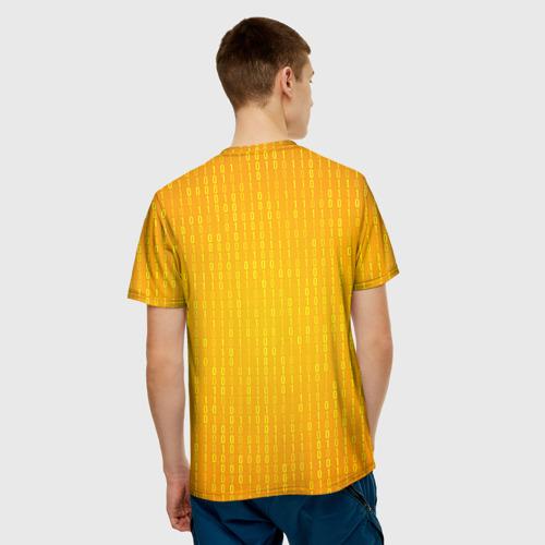 Мужская футболка 3D Программирование 3
