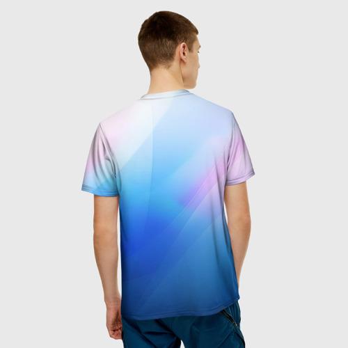 Мужская футболка 3D Linux