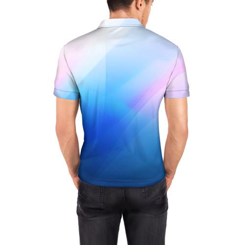 Мужская рубашка поло 3D  Фото 04, Linux