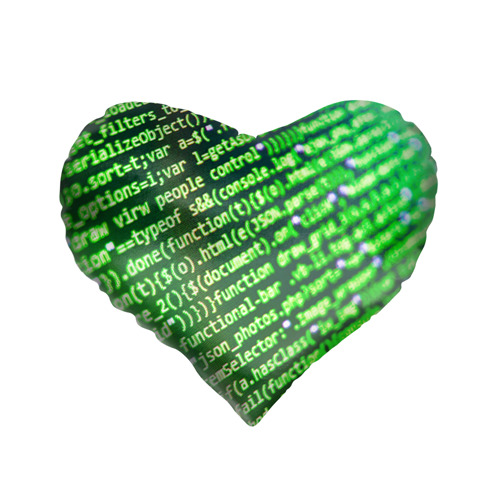 Подушка 3D сердце  Фото 01, Программирование 4