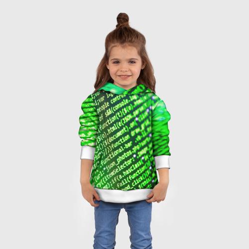 Детская толстовка 3D Программирование 4