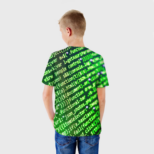 Детская футболка 3D  Фото 02, Программирование 4
