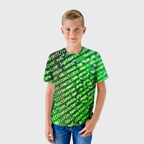 Детская футболка 3D Программирование 4