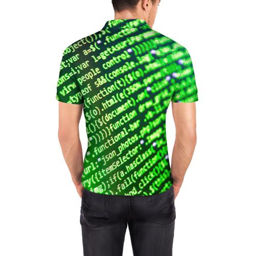 Мужская рубашка поло 3D  Фото 04, Программирование 4