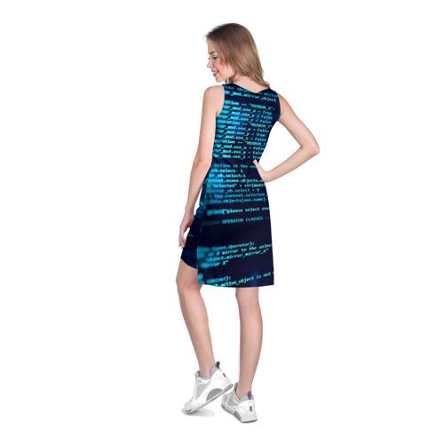 Платье-майка 3D  Фото 04, Программирование 6