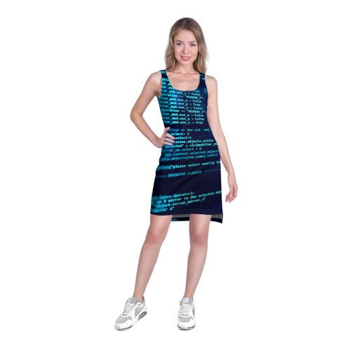 Платье-майка 3D  Фото 03, Программирование 6