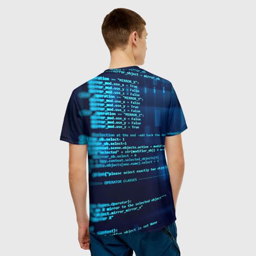 Мужская футболка 3D  Фото 02, Программирование 6