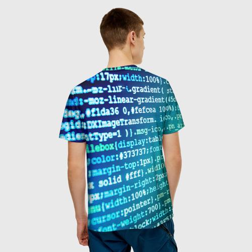 Мужская футболка 3D Программирование 7