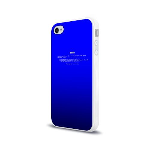 Чехол для Apple iPhone 4/4S силиконовый глянцевый  Фото 03, BSOD