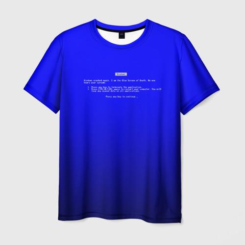 Мужская футболка 3D BSOD