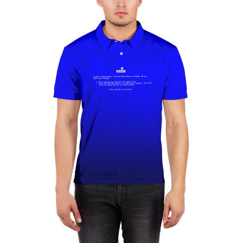 Мужская рубашка поло 3D  Фото 03, BSOD