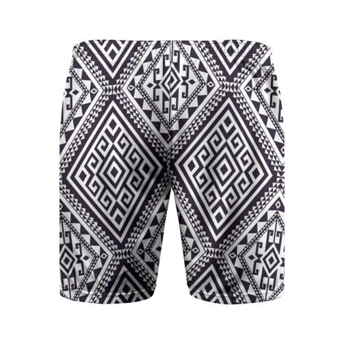 Мужские шорты 3D спортивные  Фото 02, Тартан
