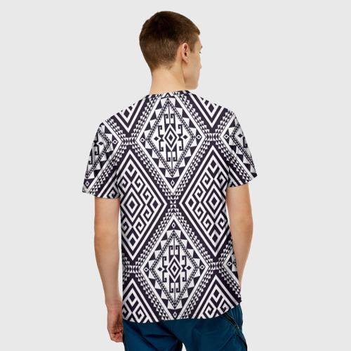 Мужская футболка 3D  Фото 02, Тартан