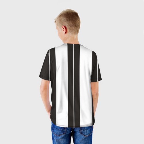 Детская футболка 3D  Фото 02, Ювентус (форма)