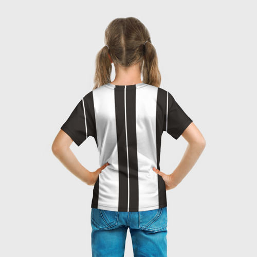 Детская футболка 3D  Фото 04, Ювентус (форма)