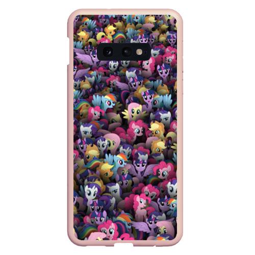 Чехол для Samsung S10E My Little Pony. Персонажи Фото 01