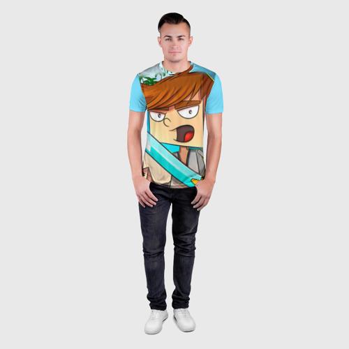 Мужская футболка 3D спортивная  Фото 04, TonyCreative 4