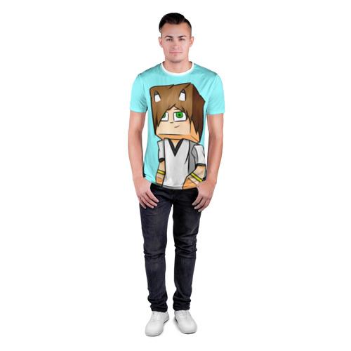 Мужская футболка 3D спортивная  Фото 04, TonyCreative