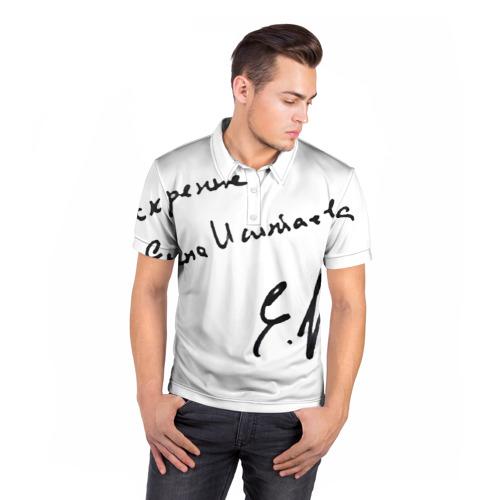 Мужская рубашка поло 3D  Фото 05, Автограф
