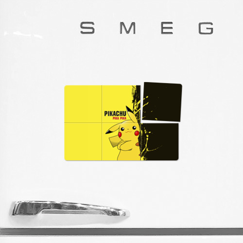 Магнитный плакат 3Х2  Фото 02, Pikachu Pika Pika