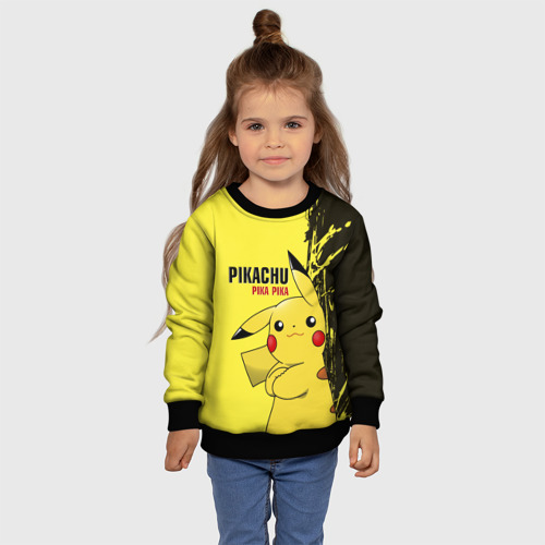 Детский свитшот 3D Pikachu Pika Pika Фото 01