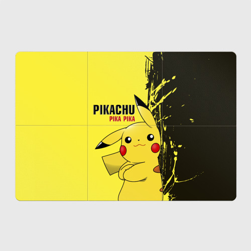 Магнитный плакат 3Х2  Фото 01, Pikachu Pika Pika