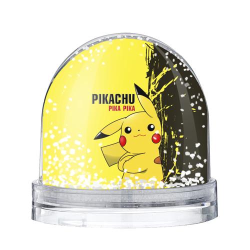 Водяной шар со снегом Pikachu Pika Pika