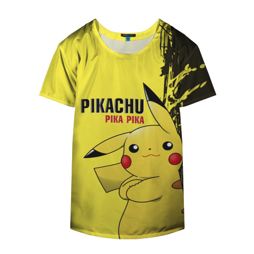 Накидка на куртку 3D Pikachu Pika Pika Фото 01