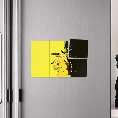 Магнитный плакат 3Х2  Фото 04, Pikachu Pika Pika