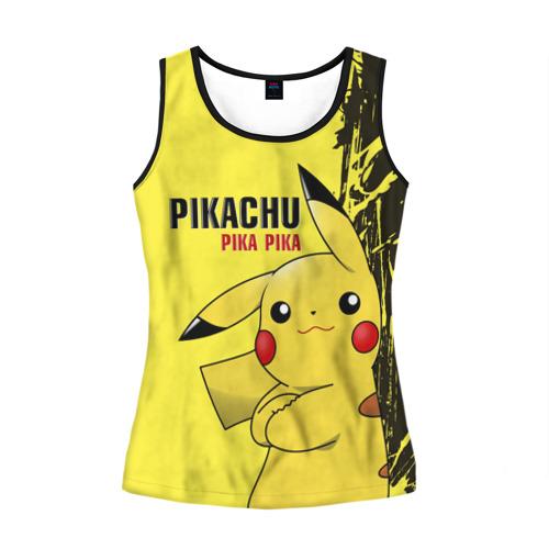 Женская майка 3D Pikachu Pika Pika