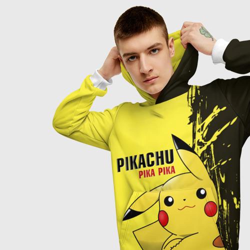 Мужская толстовка 3D Pikachu Pika Pika