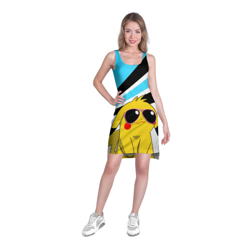 Платье-майка 3D  Фото 03, Пикачу в очках