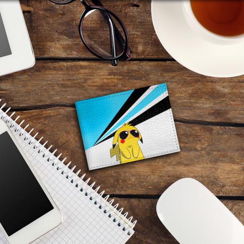 Обложка для студенческого билета  Фото 03, Пикачу в очках