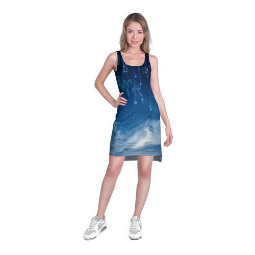Платье-майка 3D  Фото 03, Звездное небо