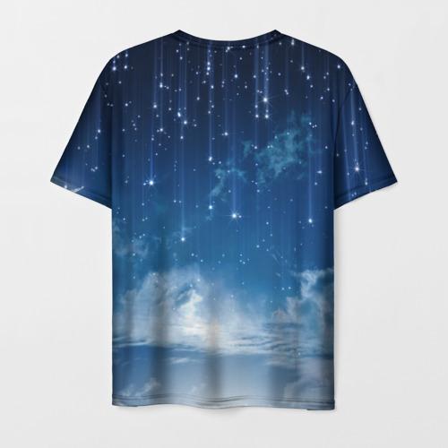 Мужская футболка 3D Звездное небо Фото 01