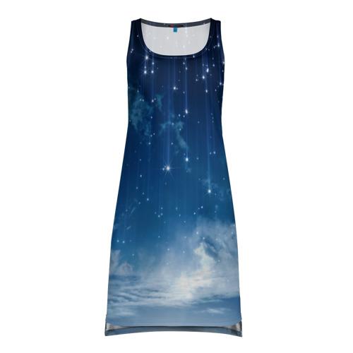 Платье-майка 3D  Фото 01, Звездное небо