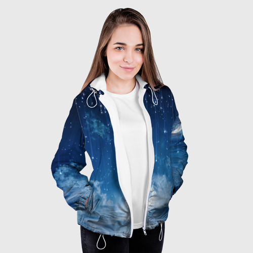 Женская куртка 3D  Фото 04, Звездное небо